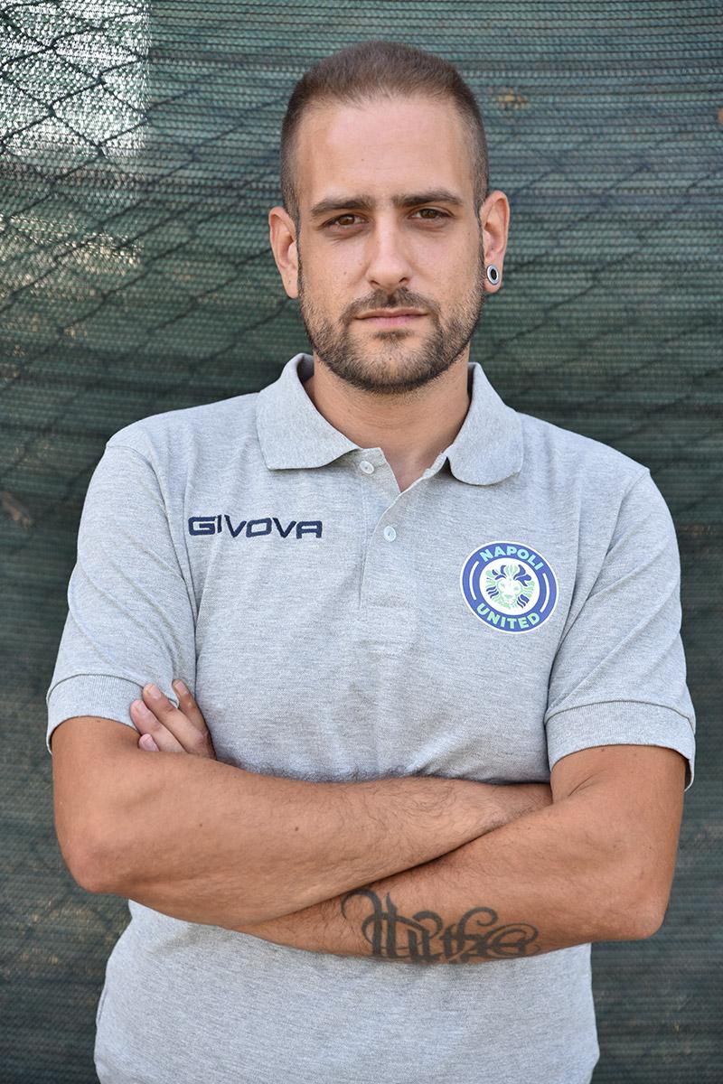 Napoli United - Staff - Luigi Di Nunzio