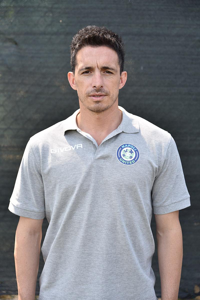 Napoli United - Staff - Pietro Varriale