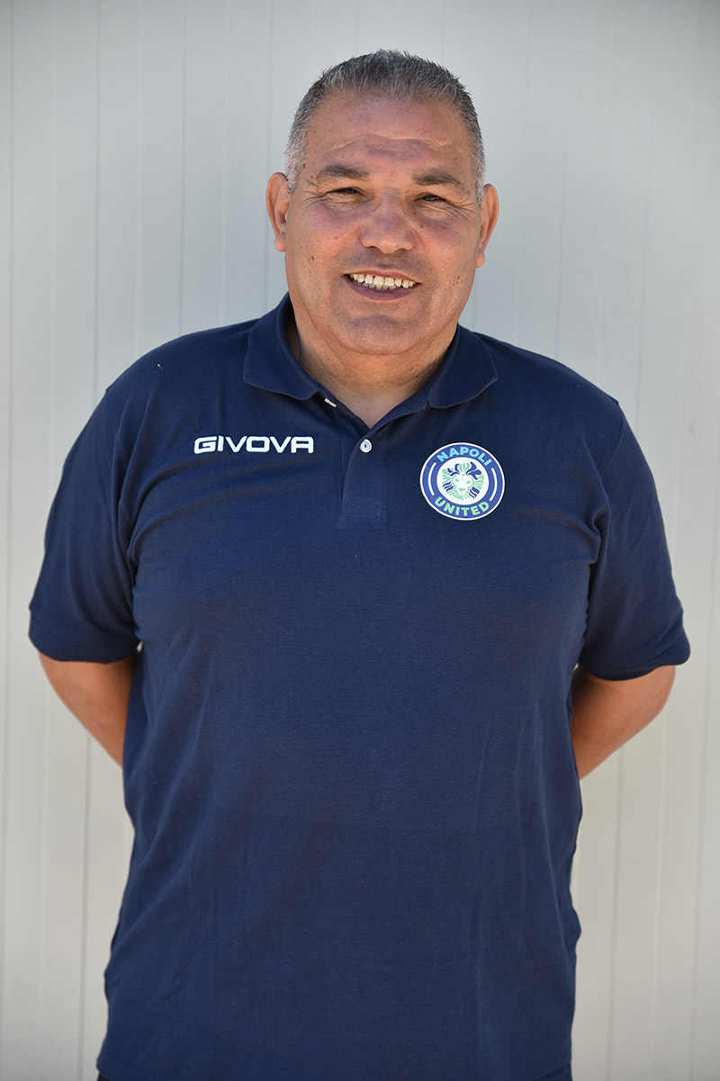 Napoli United - Staff - Vincenzo Caprio