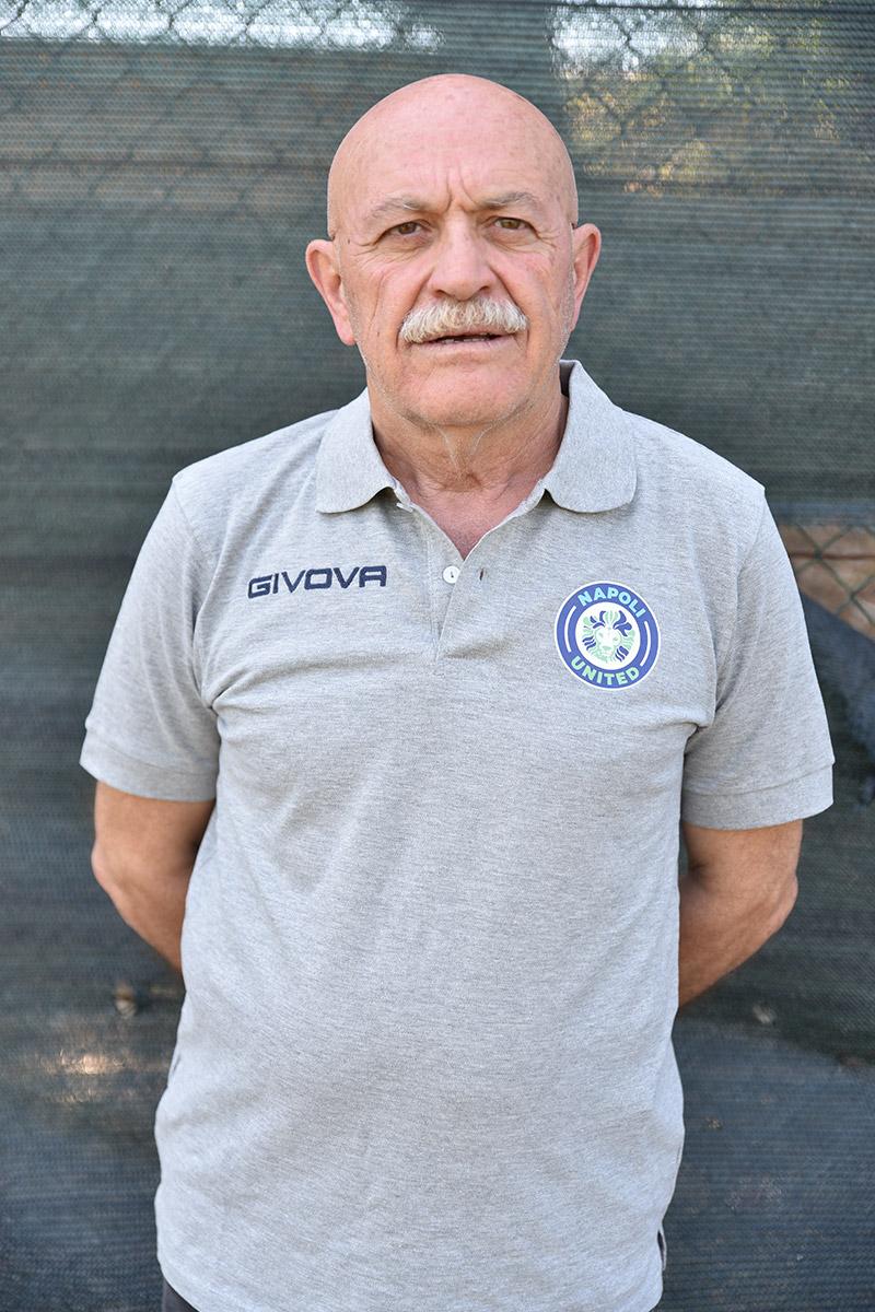 Napoli United - Staff - Mariano Improta