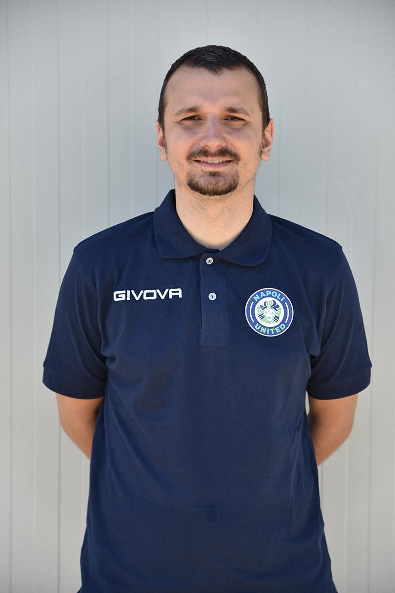 Napoli United - Staff - Carlo Costagliola