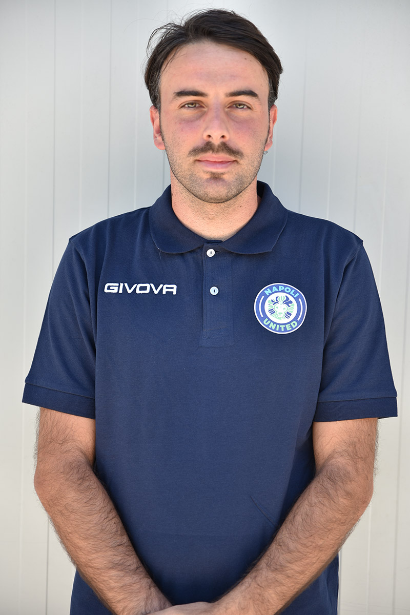 Napoli United - Staff - Pasquale Pastore