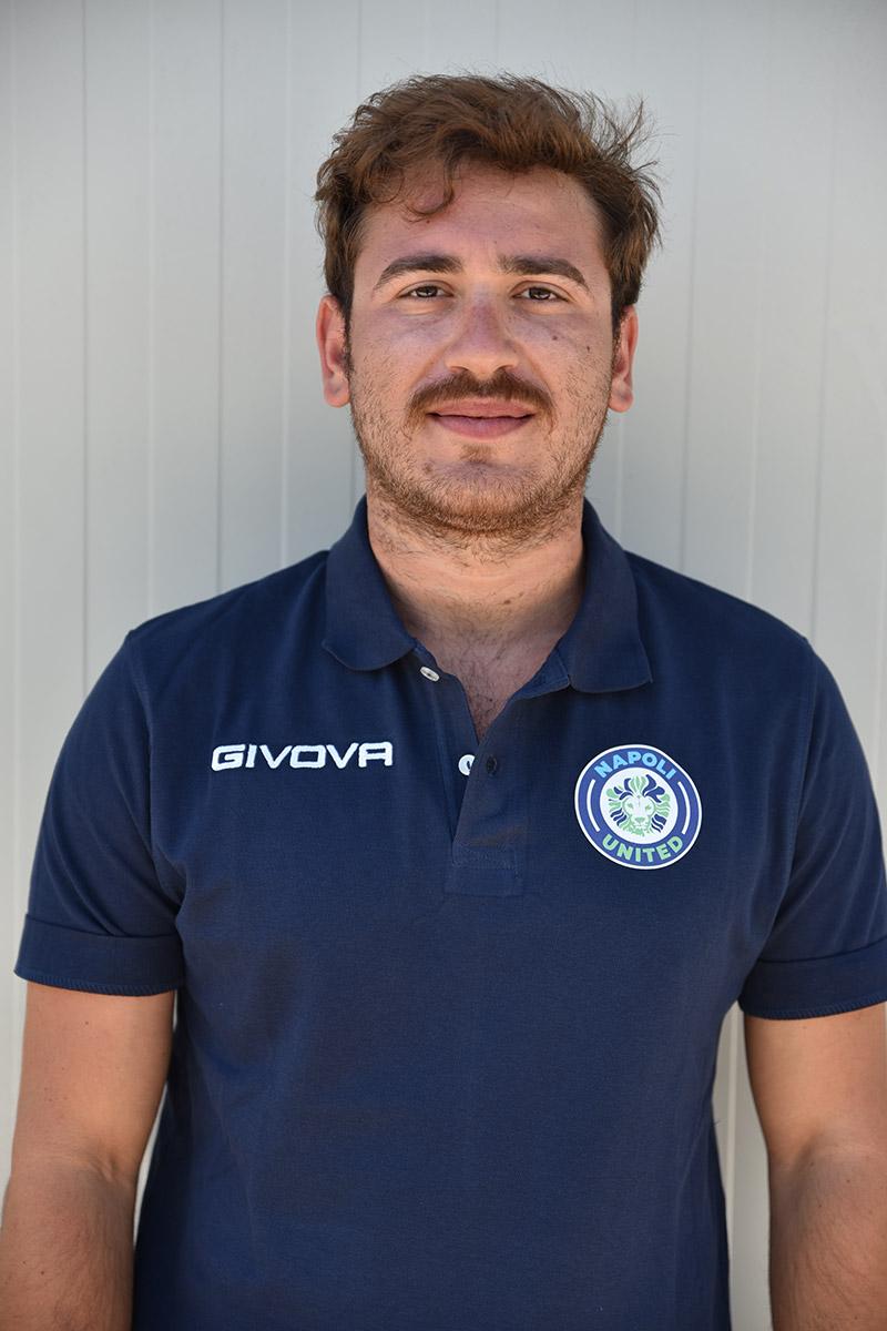 Napoli United - Staff - Francesco Vivenzio