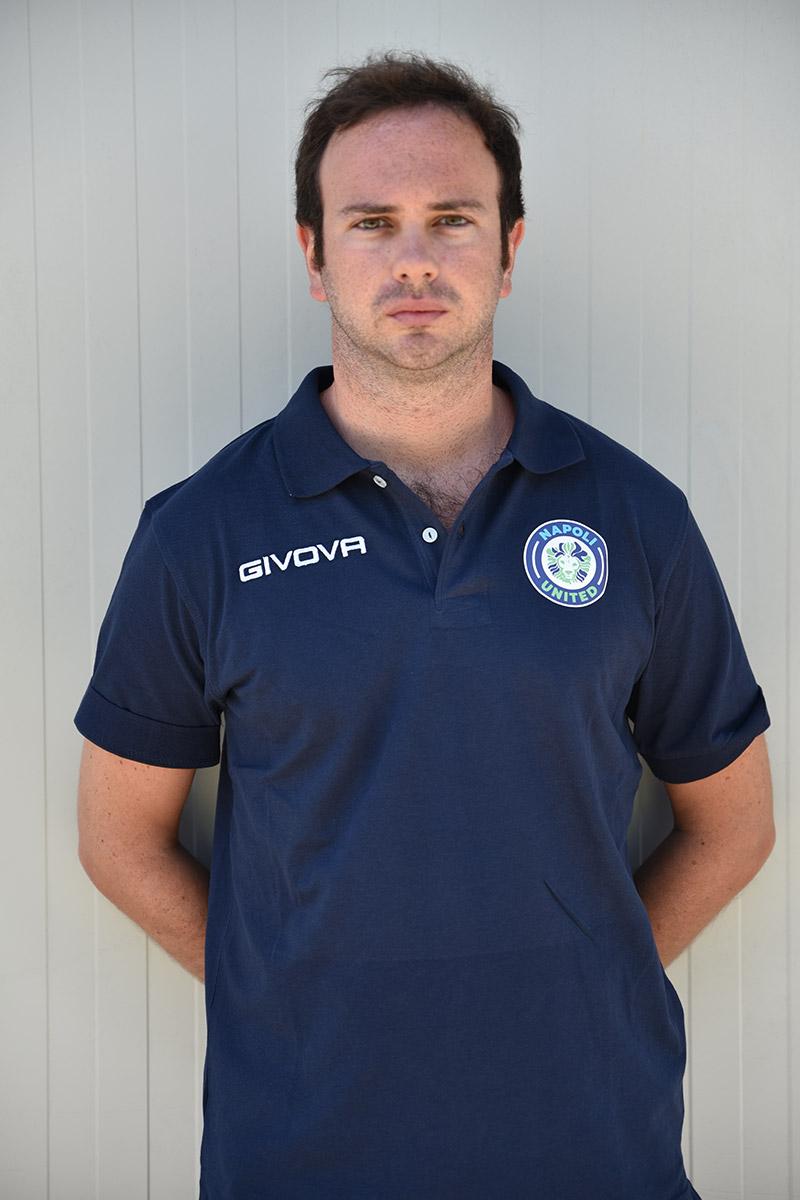 Napoli United - Staff - Francesco Evangelista